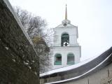 Winter Pskov Kremlin as viewed by VityaIvanov