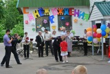 Pskov orphanage Birthday. From Snezhana Vlasova's archive.