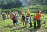 The photo report from the Ivan Kupala holiday by Olesya Markova.